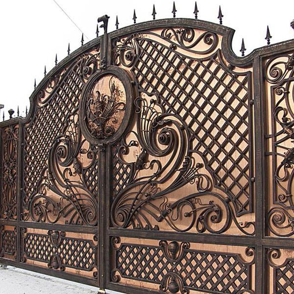 Кованые ворота и калитки Кованые ворота Вагнер Арт. В-002 Norkovka