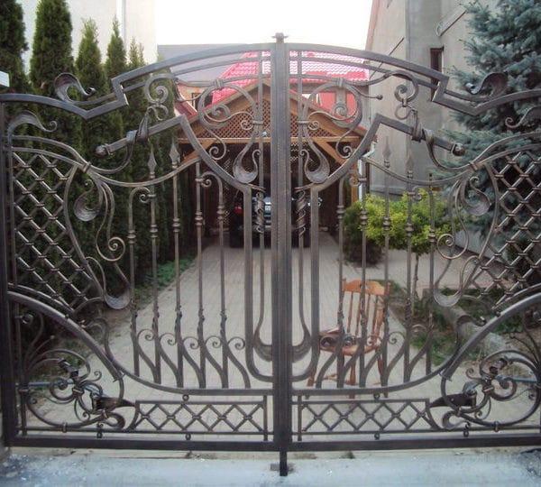 Кованые ворота Вальтер Арт. В-004