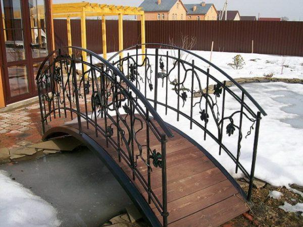 Авторский кованый мостик Арт. МО-002