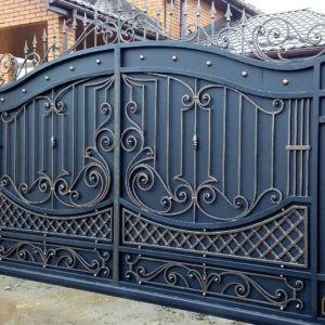 Кованые ворота Гарри Арт. В-009