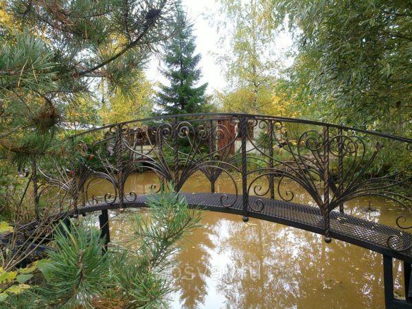 Металлический кованый мост Арт. МО-012
