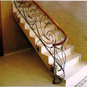 Кованые перила для лестниц Кованые перила для дома Арт. П-004 Norkovka