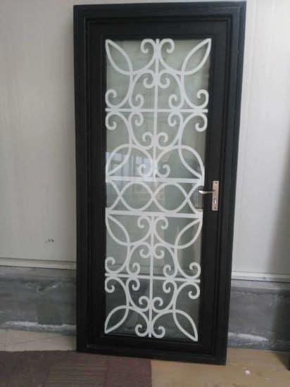 Межкомнатная кованая дверь Арт. Д-004