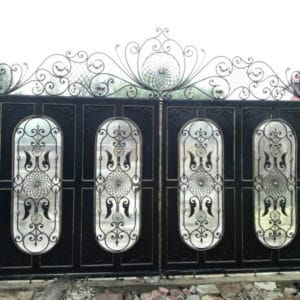 Кованые ворота и калитки Кованые ворота Гектор Арт. В-001 Norkovka