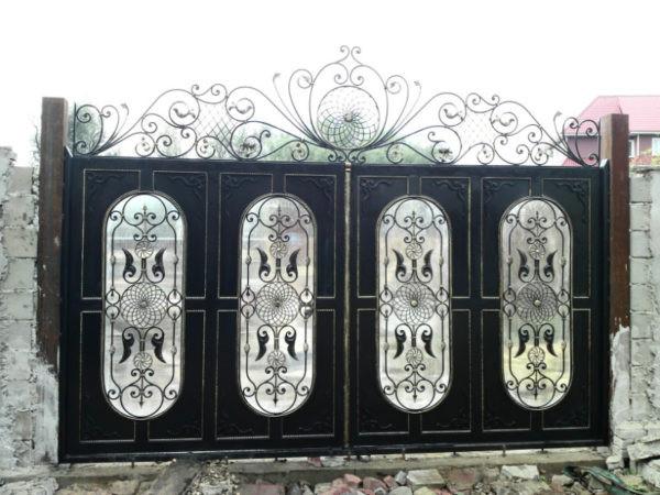 Кованые ворота Гектор Арт. В-001