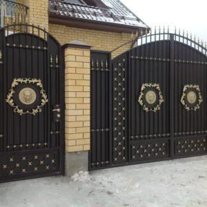 Кованые ворота Блэйк Арт. В-006