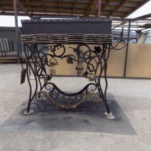Кованые мангалы Высокий кованый мангал Арт. МА-003 Norkovka