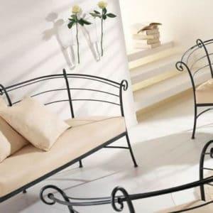 Кованая мебель Изящная кованая мебель Арт. М-005 Norkovka