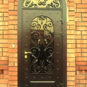 Металлическая кованая дверь Арт. Д-001