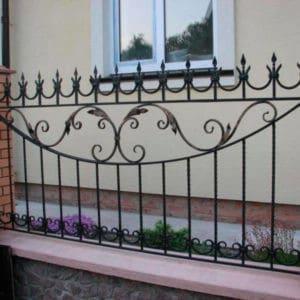 Кованые заборы Кованый забор из металла Арт. З-004 Norkovka