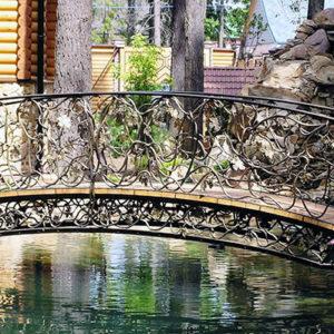 Декоративный кованый мост Арт. МО-009