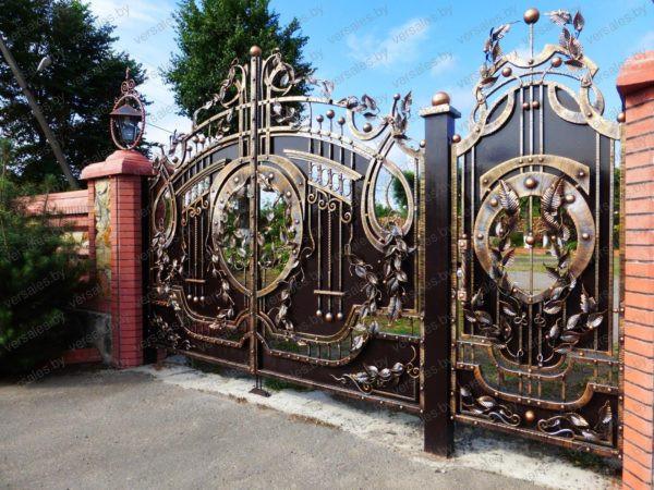 Декоративные ворота Диего Арт. В-014