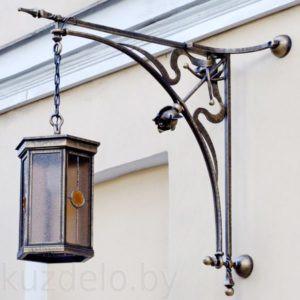 Уличный кованый светильник Арт. Л-006