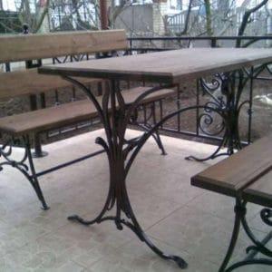 Кованая мебель для сада Арт. М-004