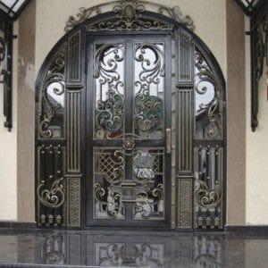 Входная кованая дверь Арт.Д-006